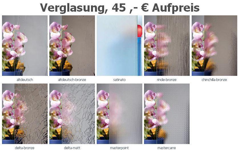 "nach Maß viele Gläser Aluminium- Haustür /""Modell 09/"" alle RAL-Farben Neu!"